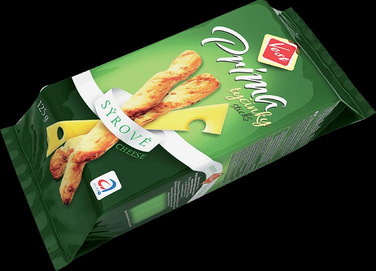 Prima tyčinky sýrové 125g